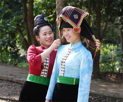 Phong tục cưới hỏi của dân tộc Thái