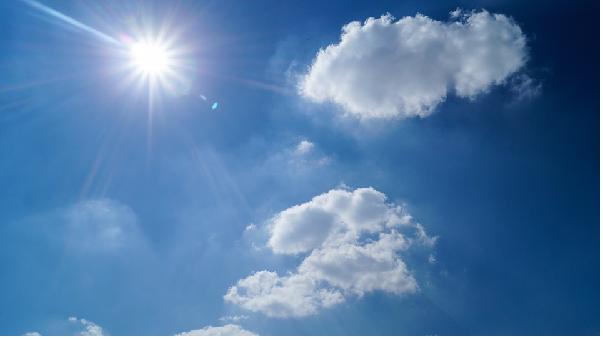 Mơ thấy trời nắng thể hiện những mong muốn bạn đang cầu nguyện