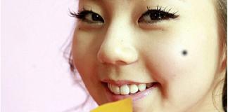 Xem bói vị trí nốt ruồi trên mặt phụ nữ