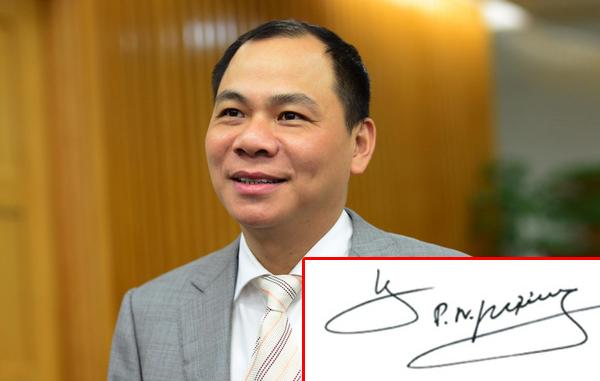 Chữ ký phong thủy tượng trưng cho sự thành công thành đạt