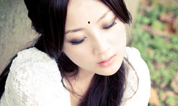 Nốt ruồi mang lại phúc khí ở vị trí giữa hai đầu lông mày