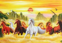 Tranh ngựa Mã Đáo Thành Công tượng trưng cho sự may mắn, thuận lợi