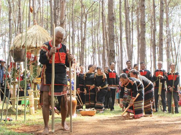Lễ hội cúng mùa màng của đồng bào dân tộc Tây Nguyên