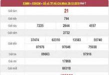 Thống kê kqxshcm ngày 30/12 từ các cao thủ