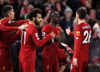 Liverpool vẫn có thể vô địch sớm như PSG