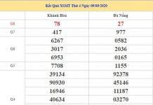 Thống kê KQXSMT 16/9/2020 chốt KQXS miền Trung thứ 4