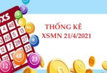 Thống kê chi tiết KQXSMN 21/4/2021