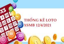 Thống kê loto gan KQXSMB 12/4/2021