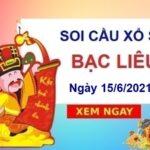 Soi cầu XSBL ngày 15/6/2021