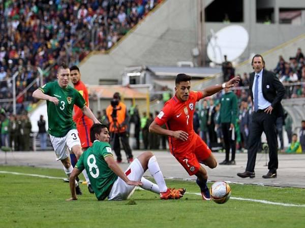Nhận định, soi kèo Bolivia vs Chile, 08h30 ngày 09/06