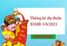 Thống kê dự đoán XSMB 3/8/2021