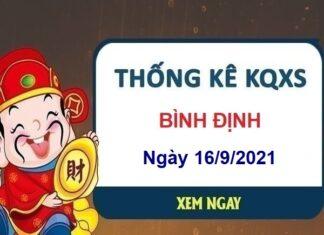 Thống kê xổ số Bình Định ngày 16/9/2021