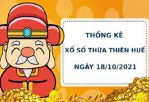 Thống kê soi cầu xổ số Thừa Thiên Huế 18/10/2021 hôm nay chính xác